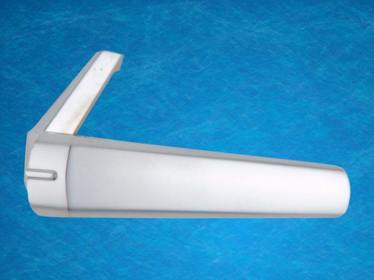 Commercial door handle