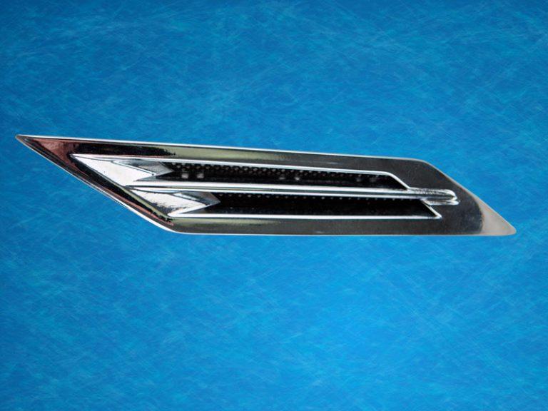 Fender vent assembly