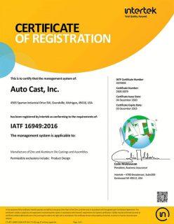 IATF-certification-Auto-Cast-Inc-Dec-2023